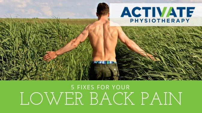 5 Fixes for Your Lower Back