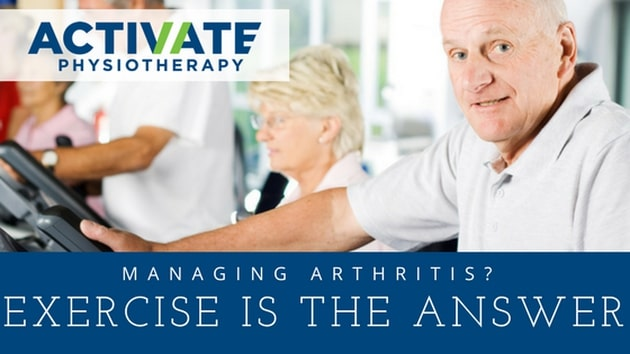 Managing Arthritis? Exercise is the answer!