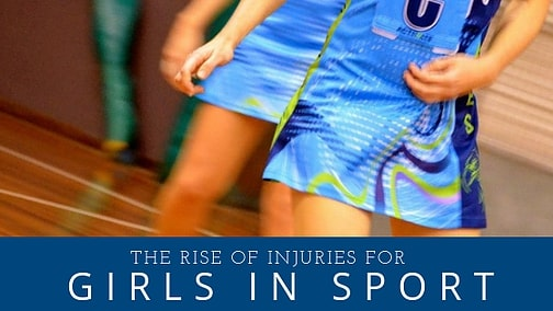 Rise in Injuries for Girls in Sport