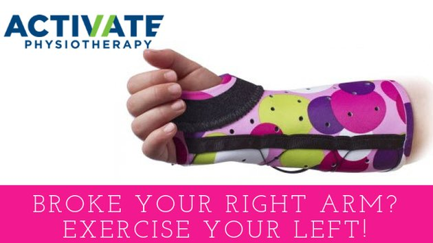 Broke your right arm? Exercise your left!