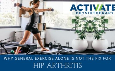 Why general exercise alone is not enough to fix your Hip Osteoarthritis
