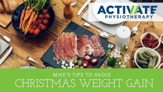 Mikes top tips to avoid weight gain this festive season