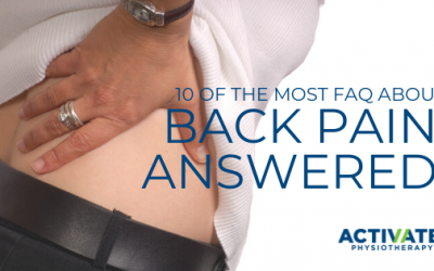 10 FAQ About Back Pain Answered!