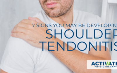 7 Early Warning Signs You Might be Developing Shoulder Tendonitis